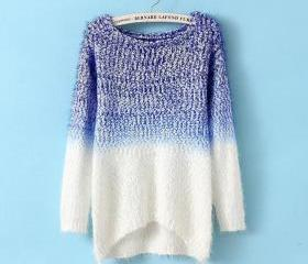 Casual loose knit sweater #092607AD