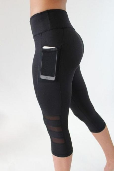 WOMEN SLIM LEGGINGS RUNNING SPORTSWEAR SPORT LEGGINGS